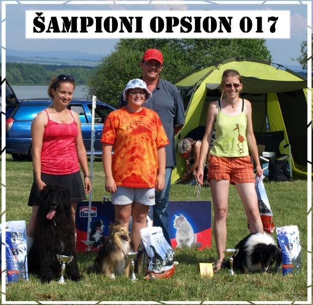 Šampióni Opsionu 017